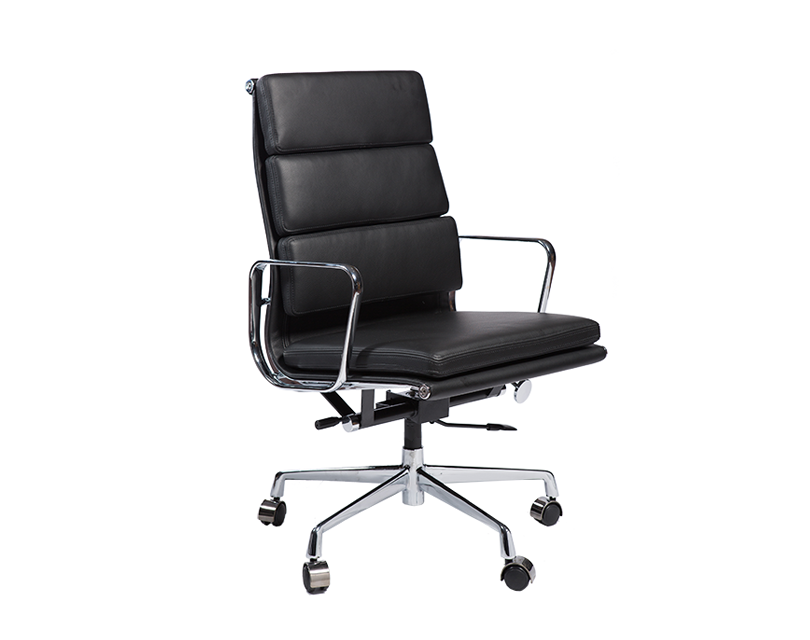 eames charles executive chair soft pad 1 299 made. Black Bedroom Furniture Sets. Home Design Ideas