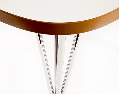 jacobsen arne 2096 tisch 769 made in italy. Black Bedroom Furniture Sets. Home Design Ideas