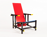 Red and Blue Chair (Rood-blauwe)
